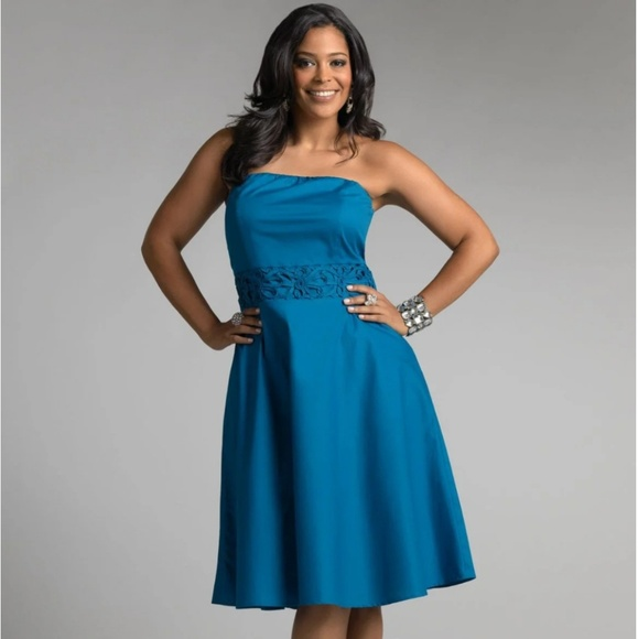 f4495aec747 Ashley Stewart Dresses   Skirts - Ashley Stewart. Turquoise dress.